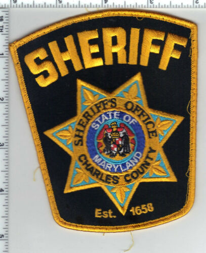 Charles County Sheriff (Maryland) Uniform Take-Off Shoulder Patch