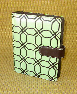 Compact 1 Rings Durable Greenbrown Franklin Covey Open Plannerbinder