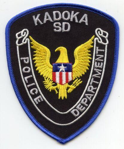 KADOKA SOUTH DAKOTA SD POLICE PATCH