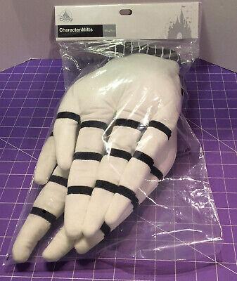 Disney Nightmare Before Christmas Jack Skellington Plush Gloves COSPLAY Costume