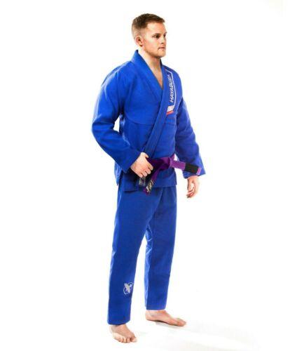 Hayabusa Lightweight Pearlweave Jiu Jitsu Gi, Blue A0