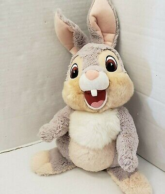 Disney World Parks Bambie Movie Rabbit Thumper Plush Soft Doll Exclusive 14""