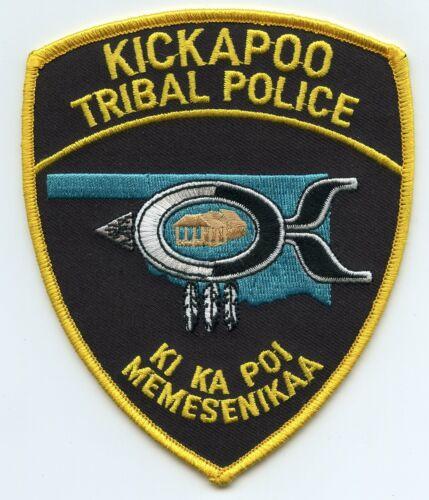 KICKAPOO INDIAN TRIBE OKLAHOMA OK TRIBAL POLICE PATCH