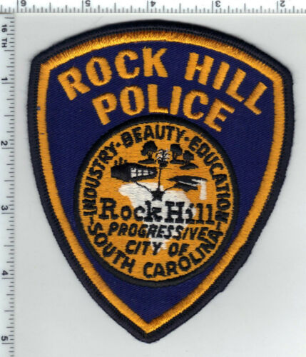 Rock Hill Police (South Carolina) Shoulder Patch new from the 1980