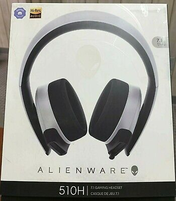 New Alienware AW510H Wired 7.1 Gaming Headset - Ships FREE