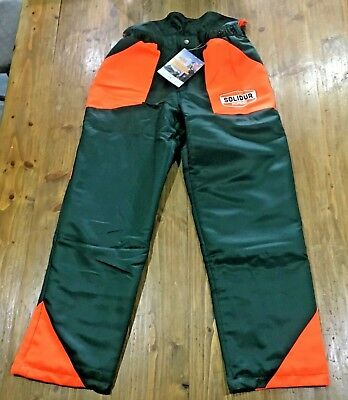 Chainsaw Protective Trousers SOLIDUR FOREST Type A CLASS 1 34-36 waist LEG 32