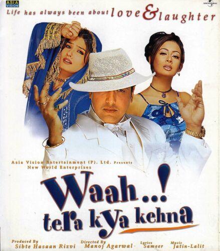 WAAH TERA KYA KEHNA (2002) PRESS BOOK  BOLLYWOOD GOVINDA