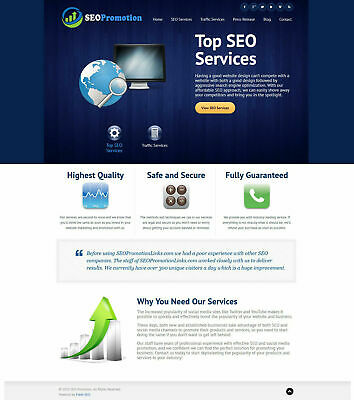 Seo Services Provider Website For Sale Turnkey Business Free Hosting Ssl