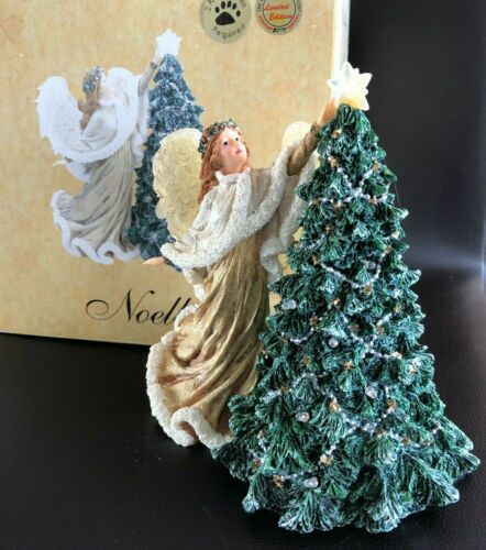 Boyds Collection Charming Angels Noella.. Spirit of the Holidays #28259 (IOB) LE