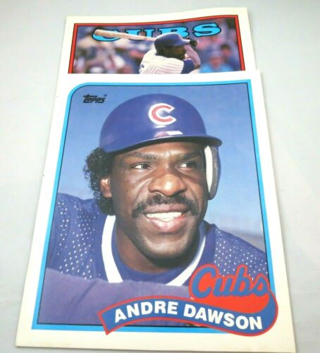 """Vintage #8 Andre Dawson Chicago Cubs 2/"""" Button Rare Find"""