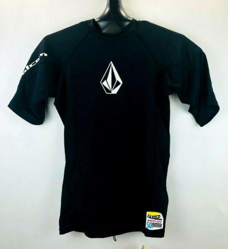 NEW Volcom Long Sleeve Rash Guard Surf Shirt 50+ UPF Youth Boy