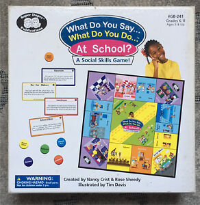 Board game - super duper social skills game board game