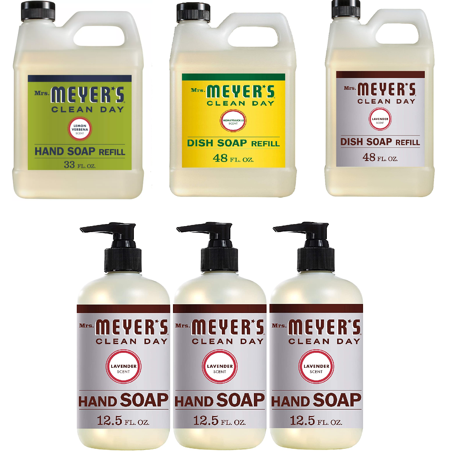 Mrs. Meyer's Clean Day Liquid Hand Soap Refill - Lavender -