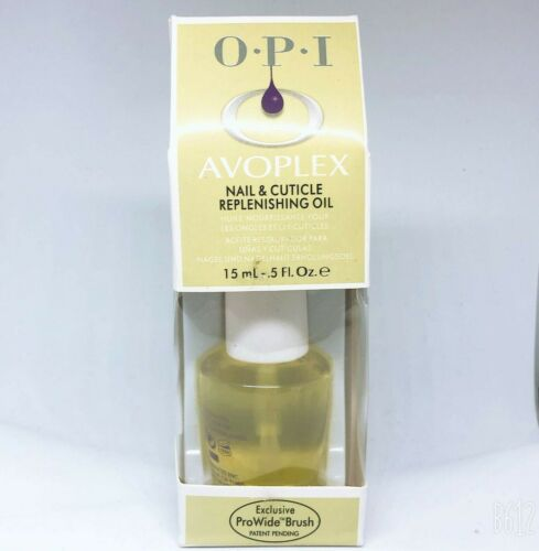 Opi Avoplex Nail & Cuticle Oil Hydrate Revitalize Protect NEW 15ml 0.5fl oz