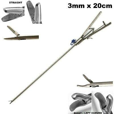 Endo Laparoscopy Ultramicro Needle Holder 3mm X 20cm Like Storz Straight Curved
