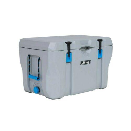 NEW Lifetime 90903 77 Quart High Performance Cooler - Gray - FREE SHIP