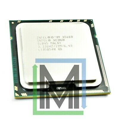 INTEL SLBV5 XEON X5680 3.33GHz 6-CORE HEXACORE LGA1366 CPU PROCESSOR