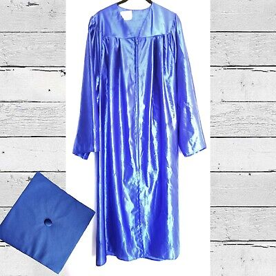 Royal Blue Graduation Cap and Gown 5'6