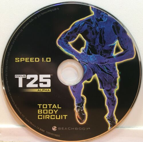 Beachbody Focus T25 Alpha & Beta | Get It Done | Replacement Discs DVDs You Pick