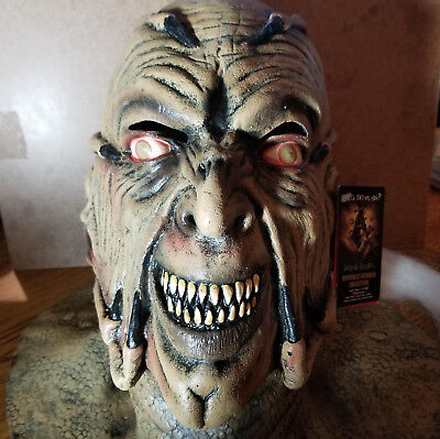 Trick or Treat Studios Jeepers Creepers Mask signed by Jonathan Breck - Jeepers Creepers Halloween Masks