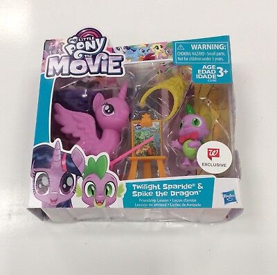 NIB My Little Pony Twilight Sparkle & Spike the Dragon