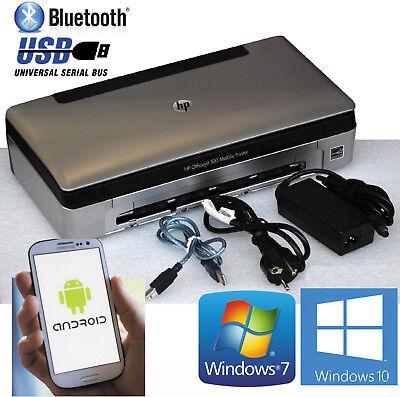 Usb & bluetooth imprimante mobile hp officejet 100 pour windows xp 7 10 &