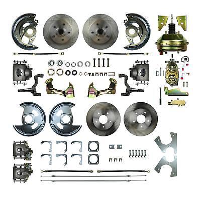 Right Stuff Detailing Disc Brake Conversion GM Passenger Car Kit AFXDC41C