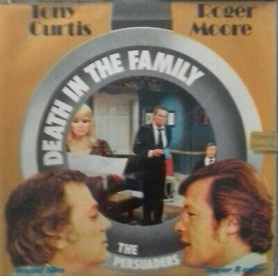 THE PERSUADERS! Tony Curtis Roger Moore 400ft/colour/sound/super 8 film ATV/ITC