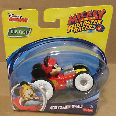 Disney Junior Mickey And The Roadster Racers Mickey's Racin' Wheels Car  NEW