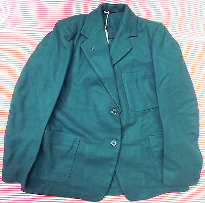 Vintage girls green Blazer Bukta 1950s 1960s School Uniform children clothes 32