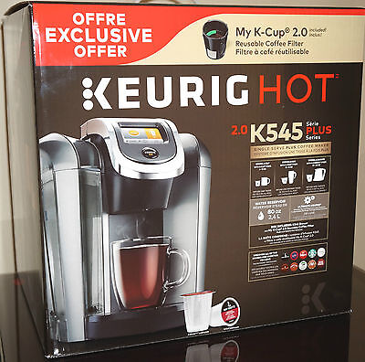 Keurig 2 0 K545 Plus K Cup Machine Coffee Maker Brewing System K500 K575 Series