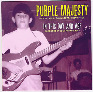 Majesty in This Day Age 7 New 1967 Mickey Leigh Joey Ramone Ramones