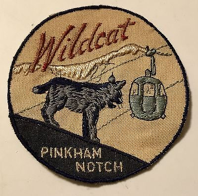 WILDCAT MOUNTAIN Vintage Skiing Ski Patch Pinkham Notch NEW HAMPSHIRE NH Travel
