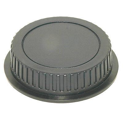 Rear replacement lens cap fits Canon EOS EF mount film & digital camera lenses