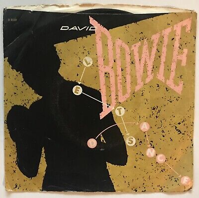David Bowie - Let's Dance / Cat People (Putting Out Fire) - 1983 - 45 Record  (Cat People Putting Out Fire David Bowie)