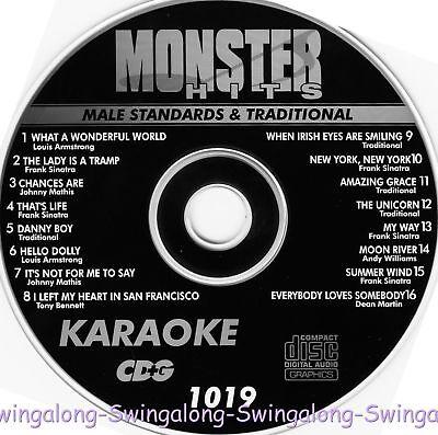 Monster Hits Karaoke CD+G vol-1019/Louis Armstrong,Frank Sinatra,Dean Martin+