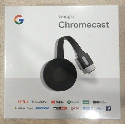 NEW Google Chromecast HDMI Digital Media Streamer 2nd Gen GA3A00093-A14-Z01