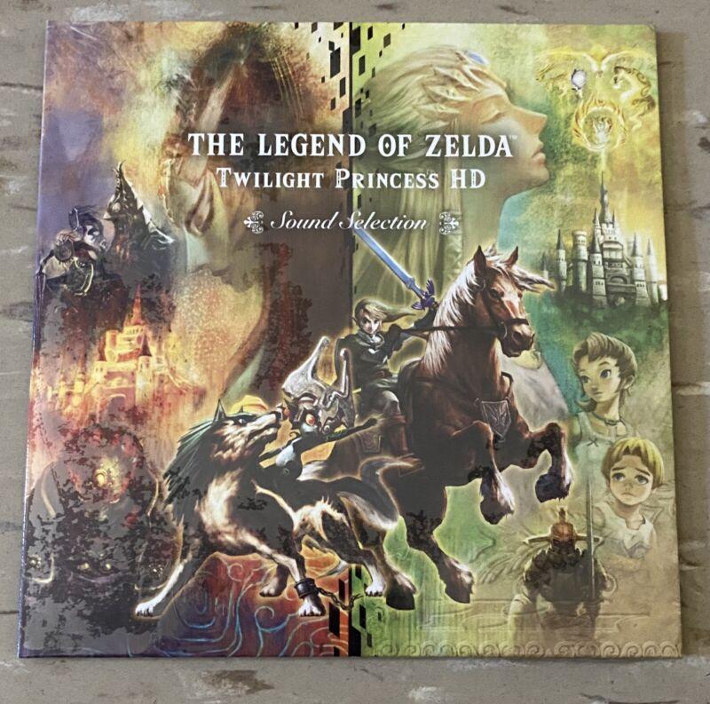 The Legend Of Zelda Twilight Princess HD Sound Selection Soundtrack New Sealed