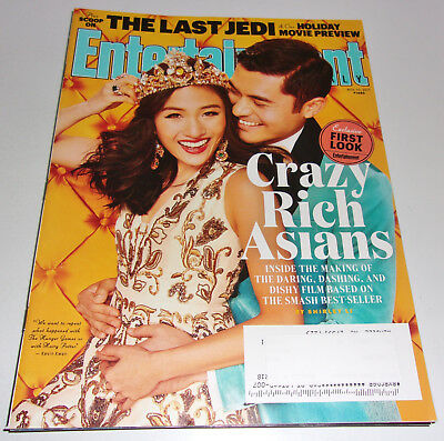 Crazy Rich Asians Entertainment Weekly Nov 2017 Constance Wu Greta Gerwig Jedi