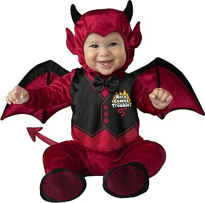 Infant Devil Costume (Infant Baby little devil Costume)