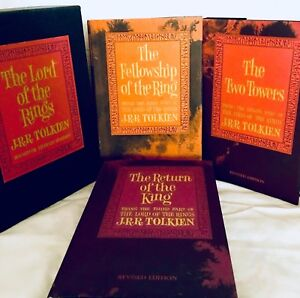 The Lord Of The Rings Book Set