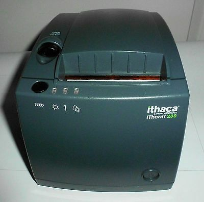 Good Tested Transact Ithaca Itherm 280 Mod 280u Pos Thermal Receipt Printer Usb