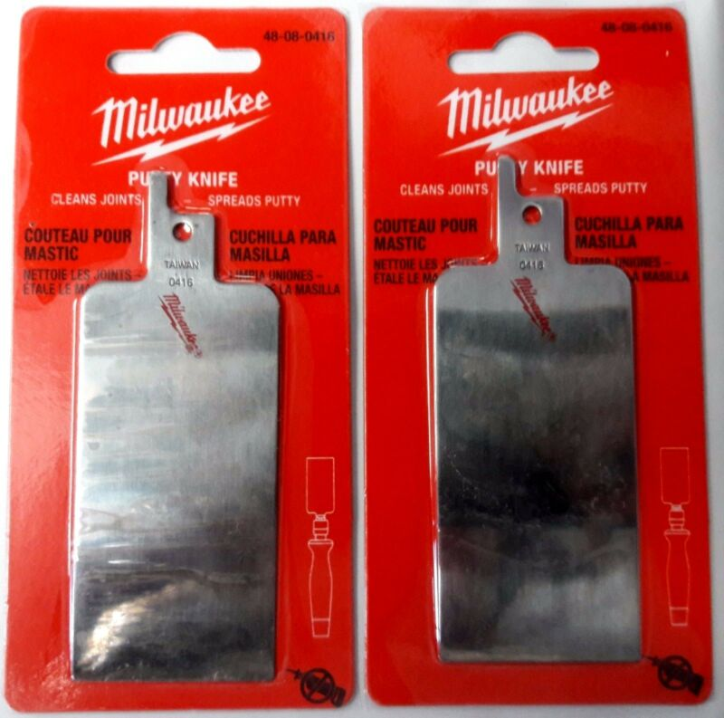 Details about Milwaukee Putty Knife 48-08-0416 For Job Saw Handle Only 2PKS