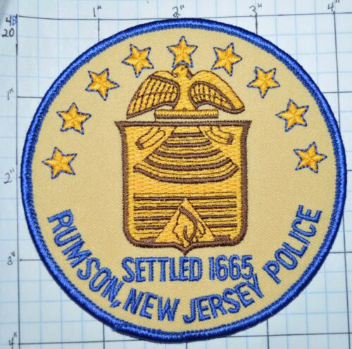 NEW JERSEY, RUMSON POLICE DEPT PATCH