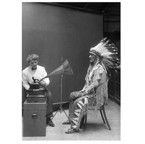 Blackfoot Chief Mountain Chief PHOTO Indian Native American Blackfeet 1916