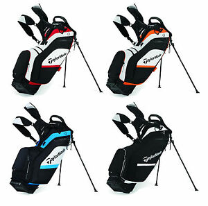 Taylormade Supreme Hybrid Golf Stand Bag 4 Color Options New