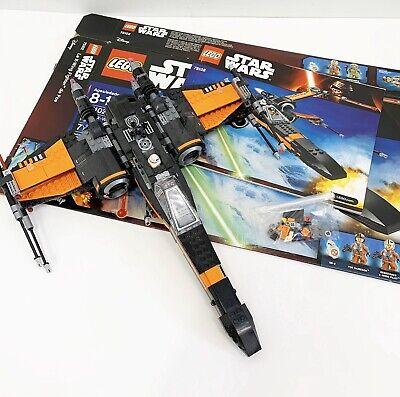 Lego Star Wars Poe's X-Wing Fighter 75102 Box Manual BB-8 Mini Figure