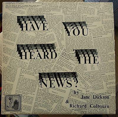 Have You Heard the News, A Rock Nativity (1979 Private Press School LP + Insert)
