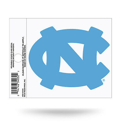 North Carolina Tar Heels Blue Static Cling Decal Free Shipping! Car (North Carolina Tar Heels Window)
