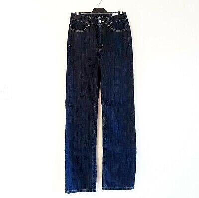 Kate Spade Saturday Size 26 Dark Blue Denim High Waist Straight Jeans NWT